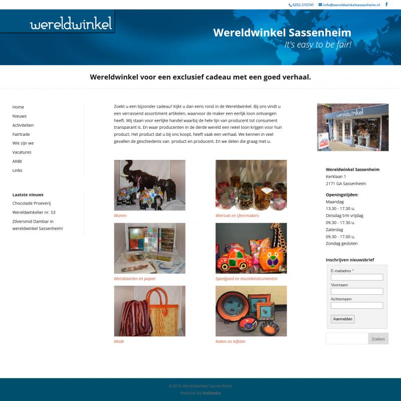 Wereldwinkel Sassenheim